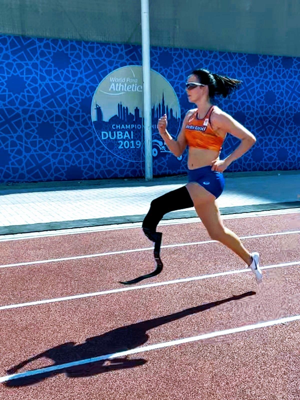 Kimberly Alkemade WK Para-Atletiek Dubai 2019