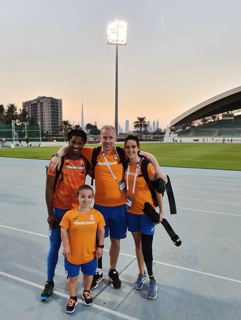 TeamNL WK Para Atletiek Dubai
