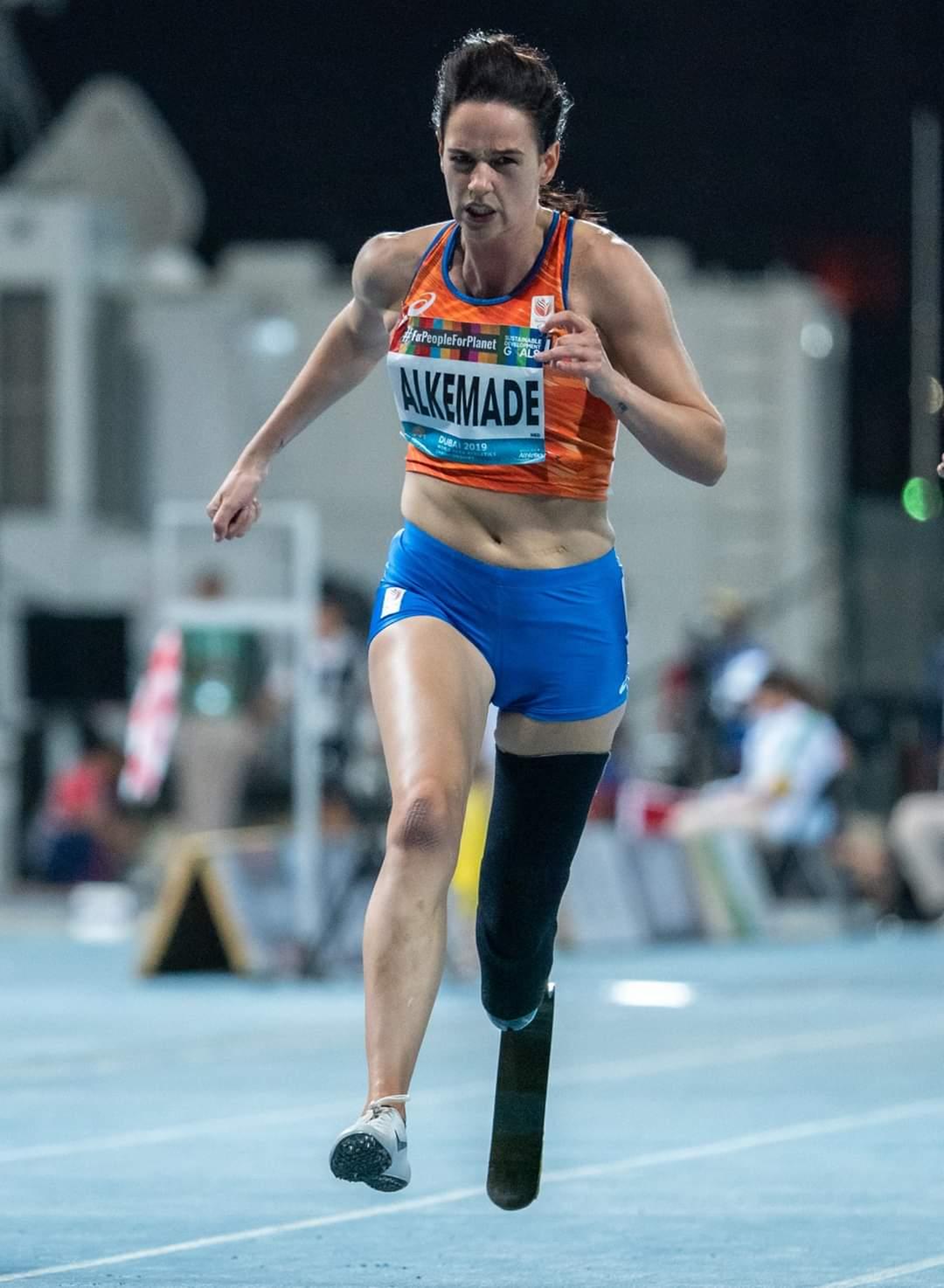 Brabants Dagblad: Tokio lonkt voor para-atlete Kimberly Alkemade: 'Ik wil me niet langer verstoppen'